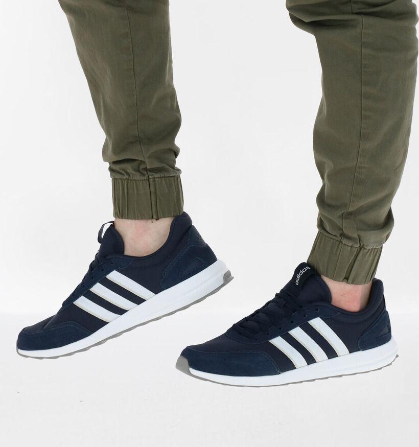 adidas Retrorunner Blauwe Sneakers in stof (276429)