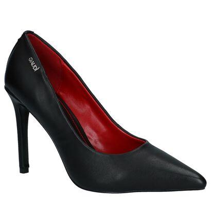 Gaudi Escarpins classique en Noir en simili cuir (236201)