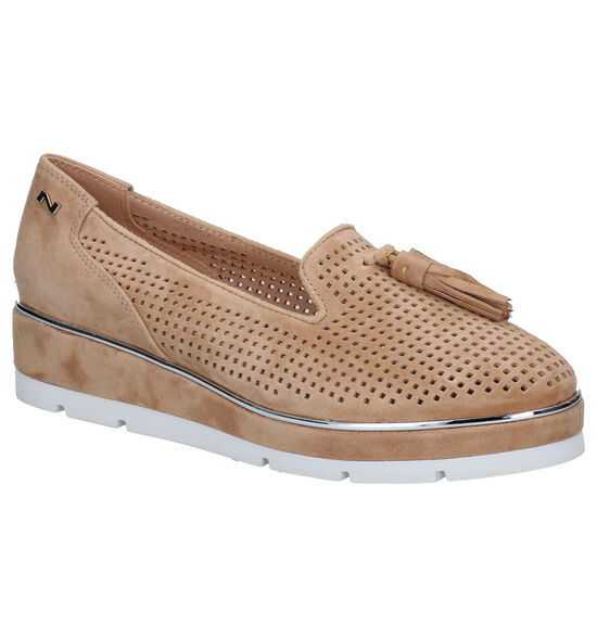 Nathan-Baume Beige Loafers