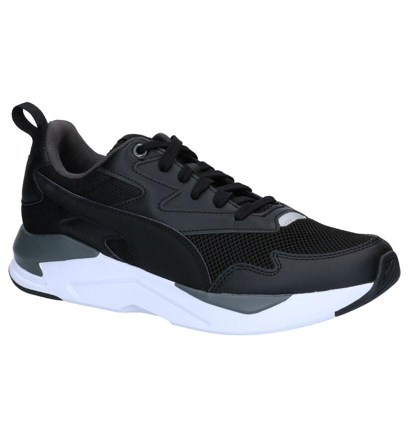Puma X-Ray Lite Baskets en Noir en simili cuir (276741)