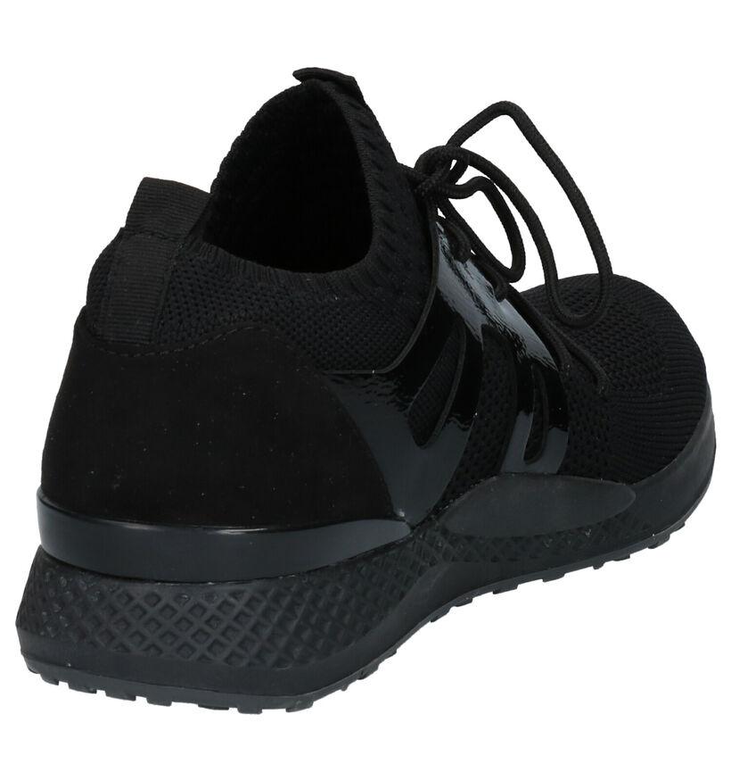 Youh! Chaussures slip-on en Noir en textile (253789)