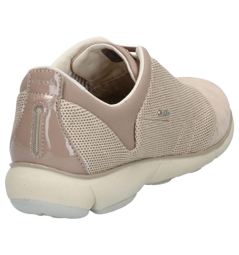 Geox Nebula Zwarte Sneakers in daim (255255)