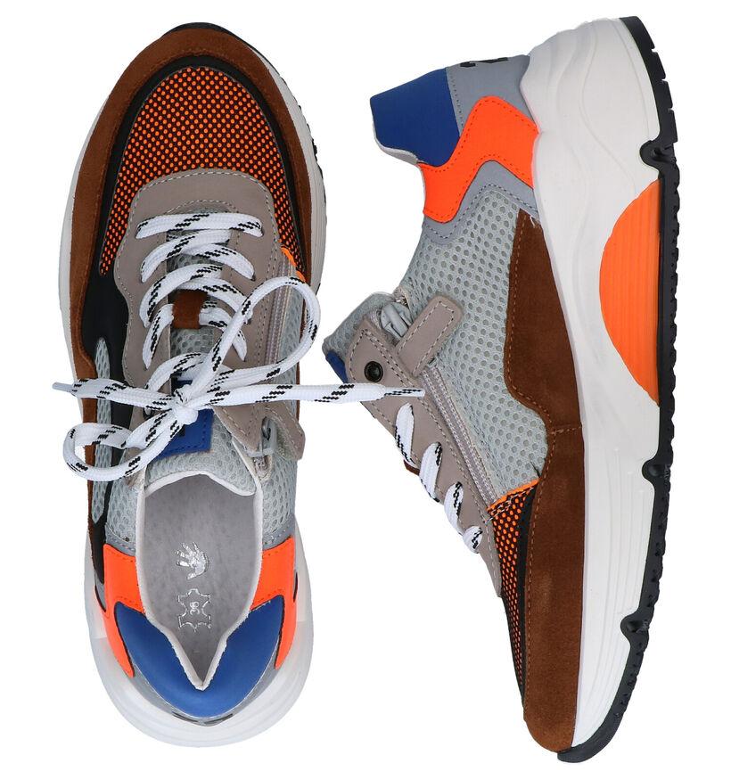 Little David Mateo Multicolor Sneakers in daim (289373)