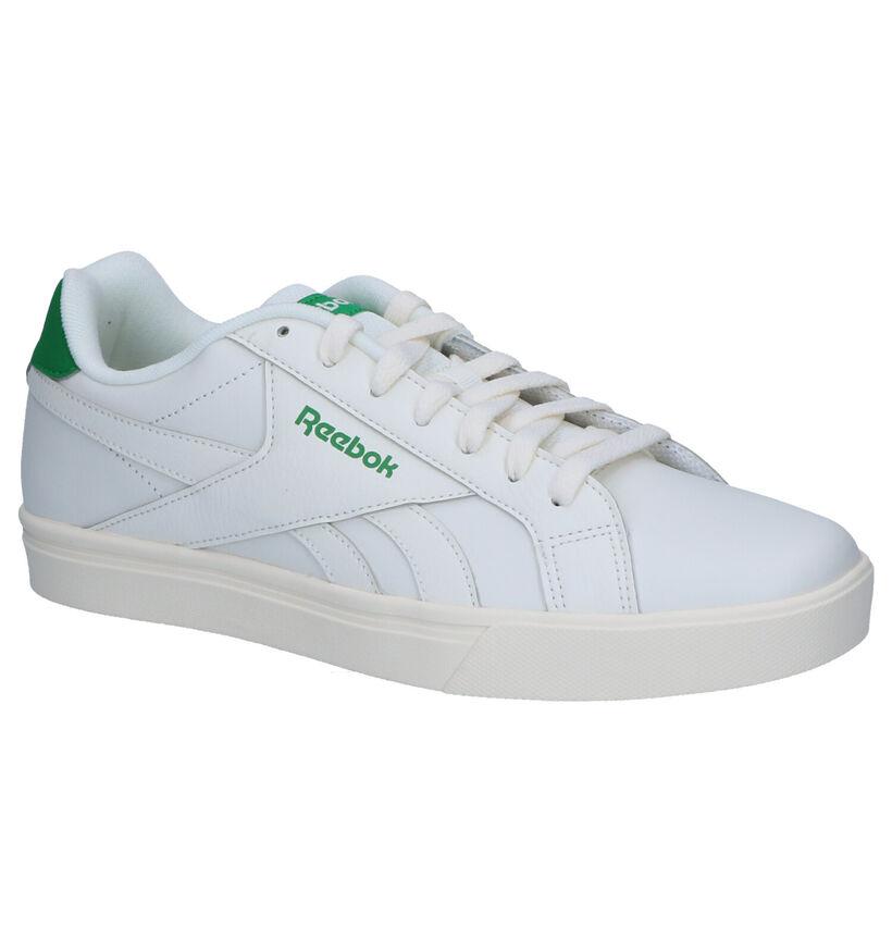 Reebok Royal Complete Witte Sneakers in kunstleer (274025)