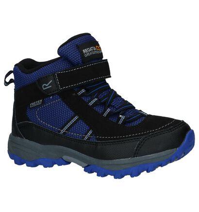 Regatta Chaussures de randonnée en Bleu foncé en simili cuir (226626)