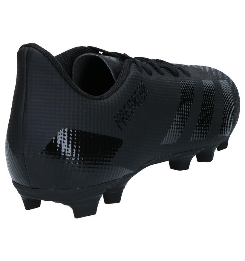 adidas Predator Chaussures de Foot en Noir en simili cuir (265406)