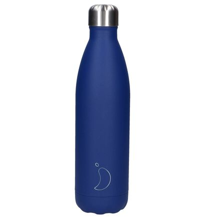 Chilly's Matte Blue Drinkbus 750ml, Blauw, pdp