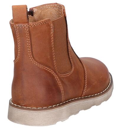 Lunella Cognac Boots in leer (258997)