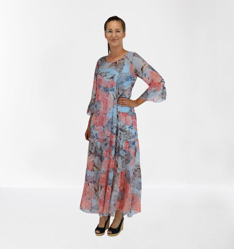 iSilk Robe Longue en Multicolore (280367)