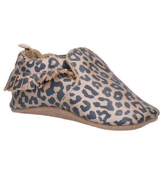 Bobux Leopard Chaussures pour bébé en Or