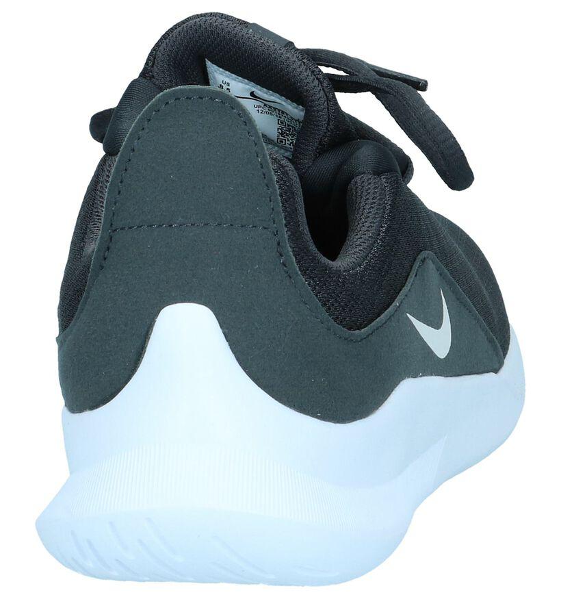 Zwarte Slip-on Sneakers Nike Viale in stof (250332)