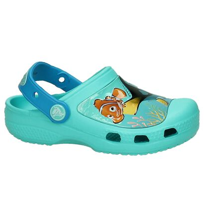 Crocs Nu-pieds  (Turquoise), Turquoise, pdp
