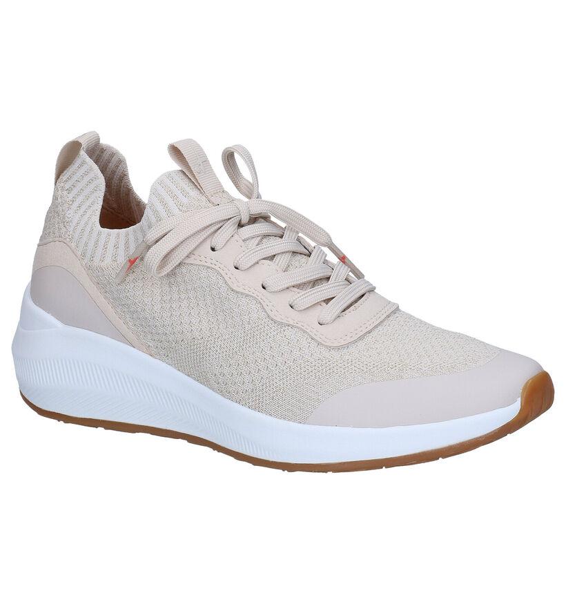 Tamaris Fashletics Blauwe Slip-on Sneakers in stof (286236)