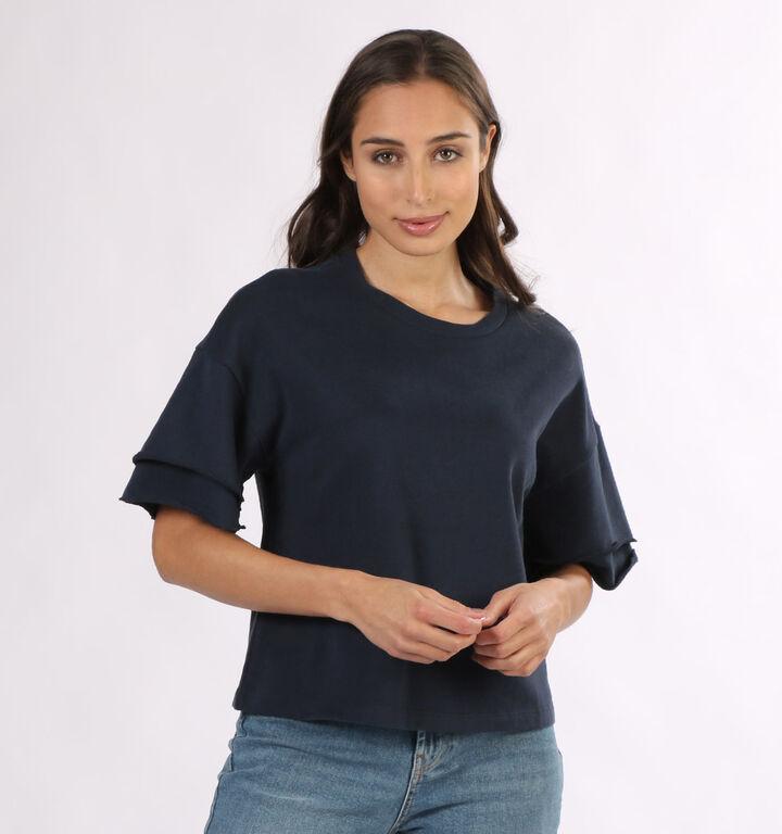 Vero Moda Gabbi T-shirt en Bleu