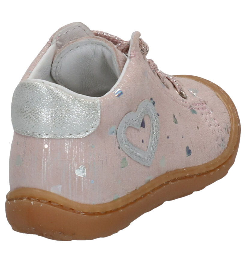 Bopy Chaussures pour bébé  en Rose clair en nubuck (269523)