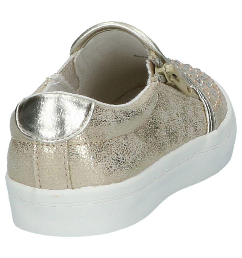 Little David Baskets slip-on en Or en simili cuir (217953)