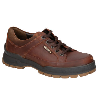 Mephisto Iacomo Grizzly Chaussures basses en Cognac en cuir (259904)