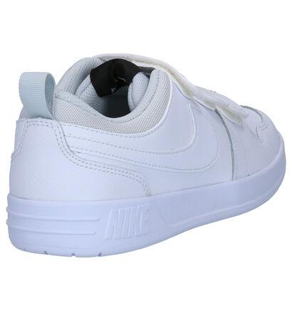 Nike Pico 5 Witte Sneakers in leer (253957)