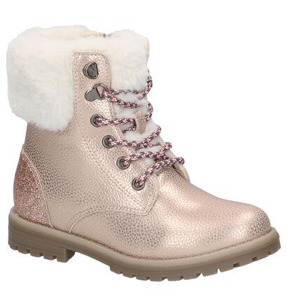 K3 Chaussures hautes en Or en simili cuir (260593)