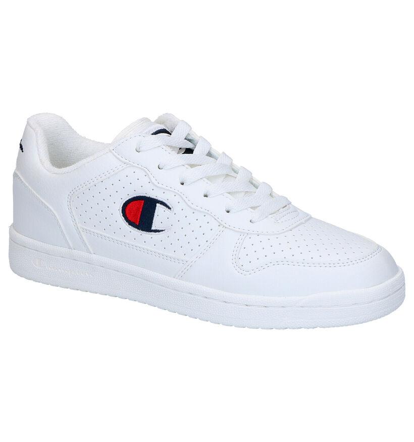 Champion Chicago Low Witte Sneakers in kunstleer (278592)