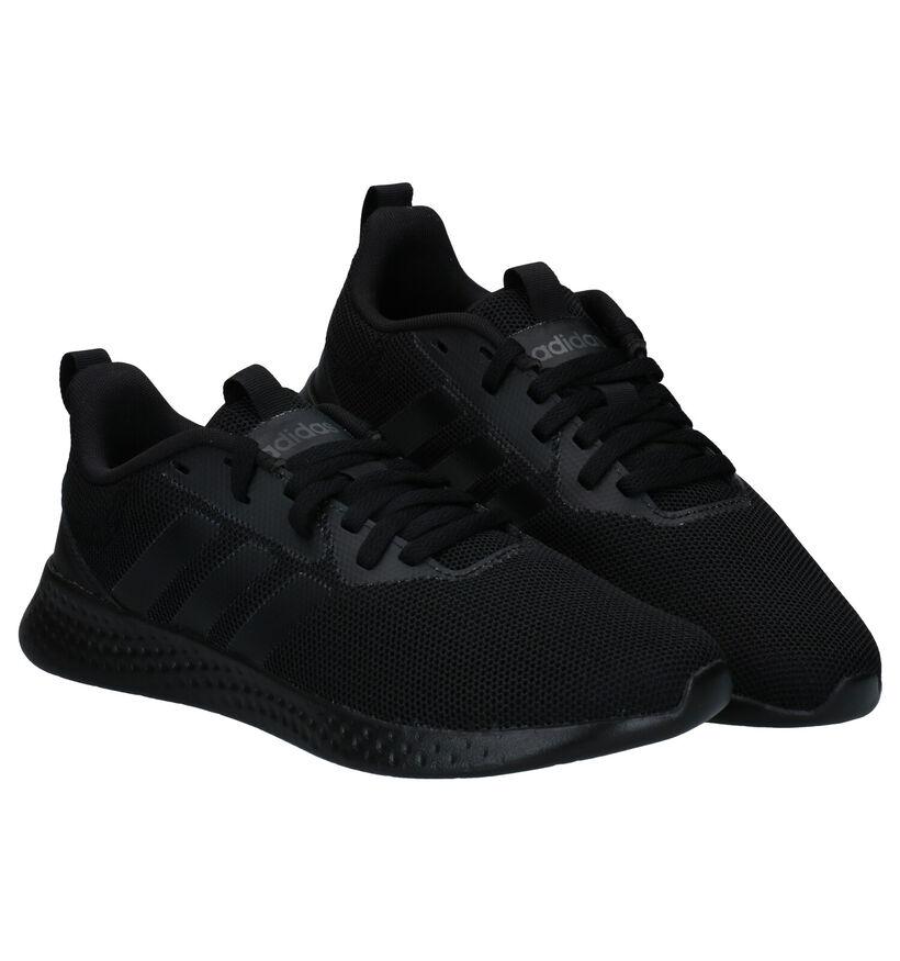 adidas Puremotion Men Baskets en Noir en simili cuir (276468)