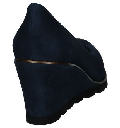 JHay Escarpins classique en Bleu foncé en daim (235504)