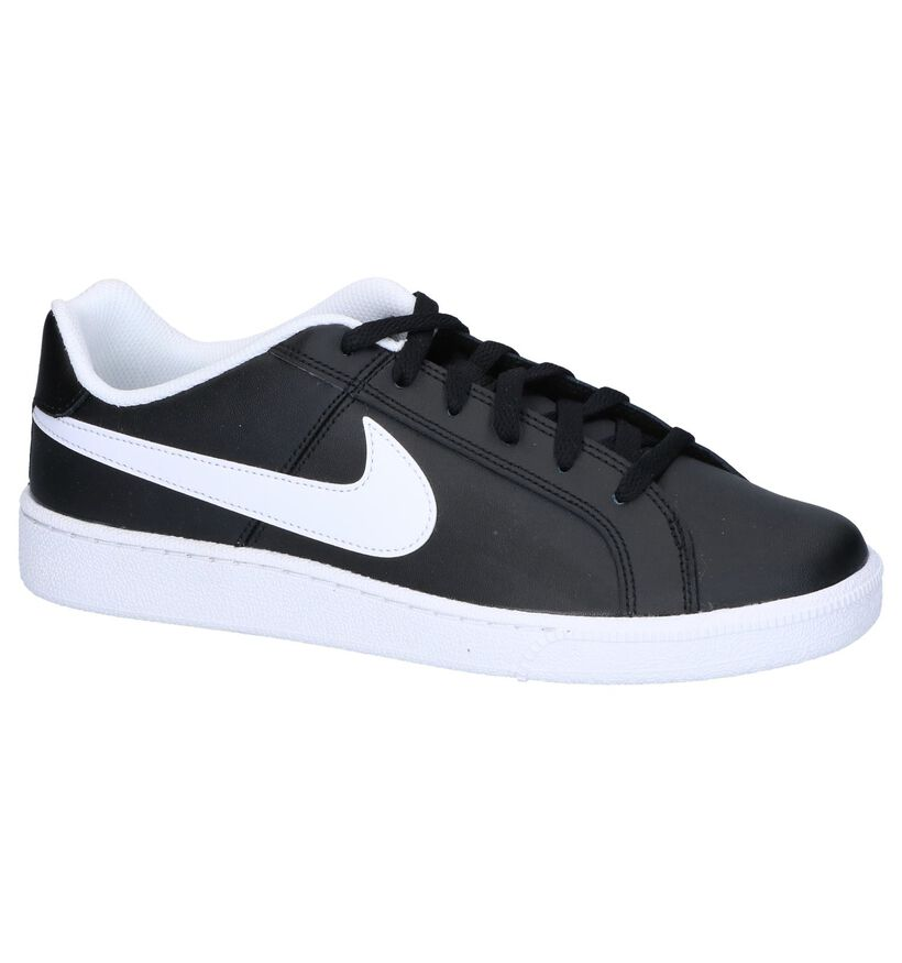 Nike Court Royale Baskets en Blanc en cuir (262194)