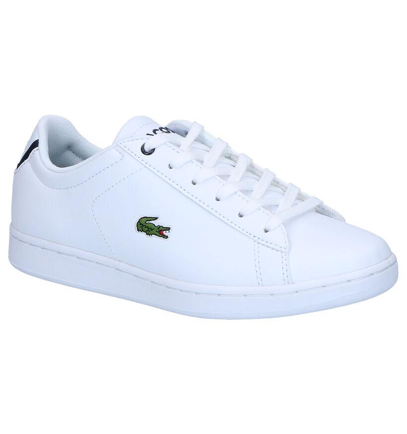 Lacoste Carnaby Evo Witte Sneakers in kunstleer (271071)
