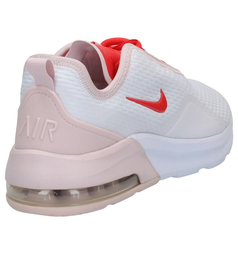 Nike Air Max Motion Baskets basses en Blanc en synthétique (265867)