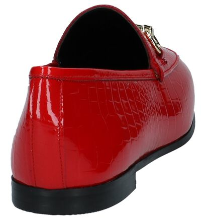 Rode Laké Loafers Dune Guilt in lakleer (223096)