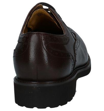 Steptronic Chaussures habillées en Brun foncé en cuir (241077)