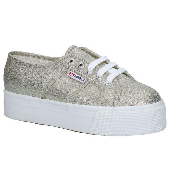 Superga Zilveren Sneakers