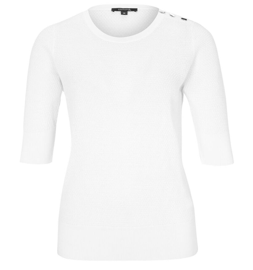comma Witte T-shirt (279927)