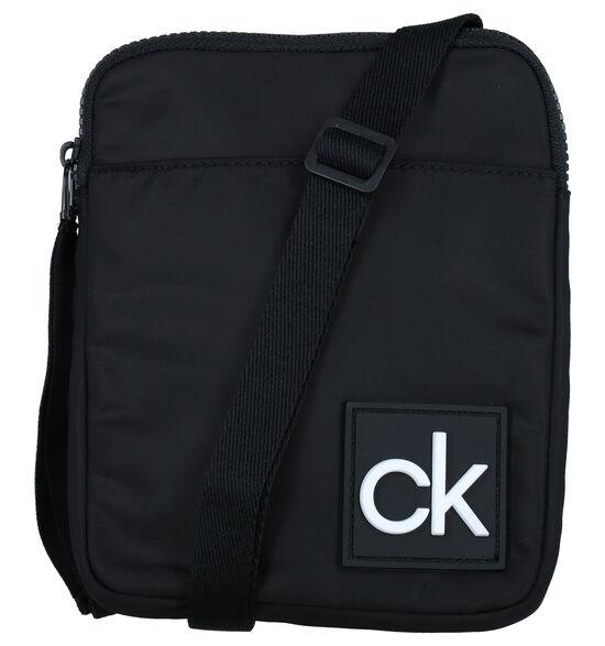 Calvin Klein Accessories Flat Pack S Zwarte Crossbody Tas