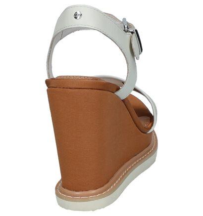 Zwarte Sandalen Tommy Hilfiger Iridescent Detail , Wit, pdp