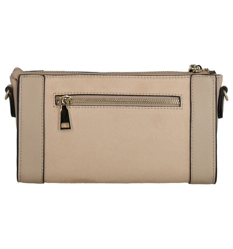 Emmy Wieleman Papaya Beige Crossbody Tas in kunstleer (271787)