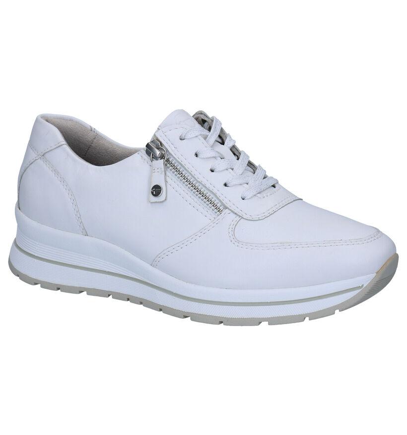 Tamaris Pure Relax Chaussures à Lacets en Blanc en cuir (270220)