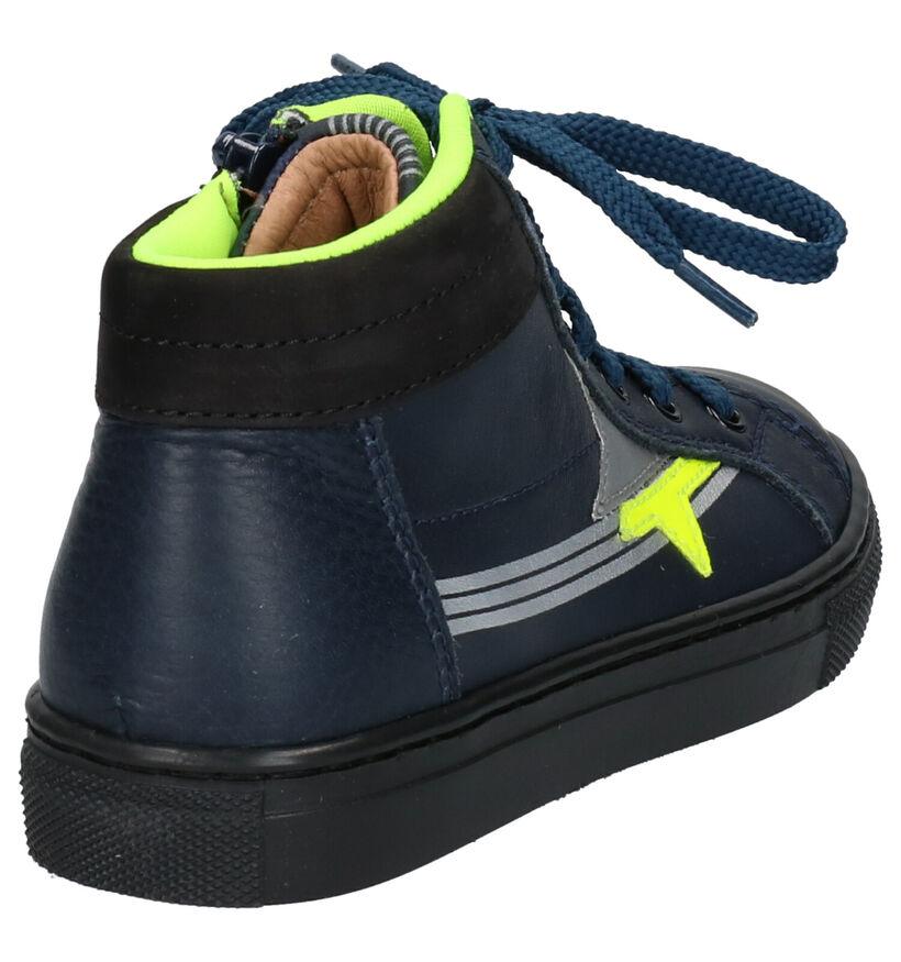 Romagnoli Chaussures hautes en Bleu foncé en cuir (259603)