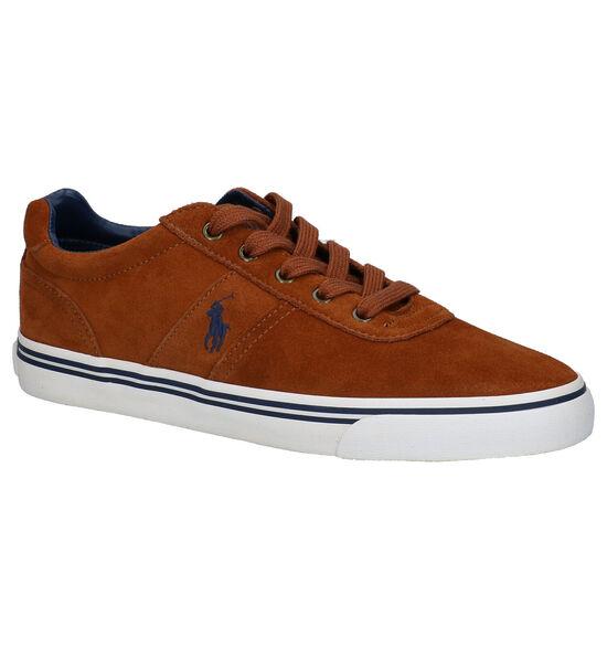 Polo Ralph Lauren Hanford Chaussures à lacets en Cognac