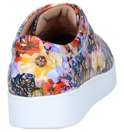 Multicolor Sneakers FitFlop Rally Flowercrush in leer (240997)