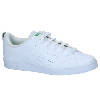 adidas VS Advantage Clean Baskets en Blanc en imitation cuir (264225)