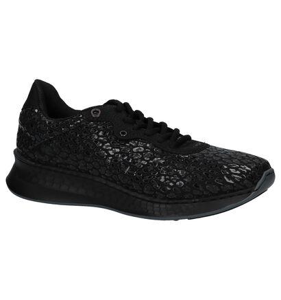Lage Geklede Sneakers Zwart Rieker in lakleer (222521)