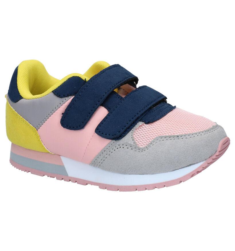Xti Kids Roze Velcroschoenen in stof (281195)