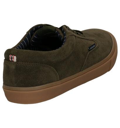 Jack & Jones Vision Zwarte Skateschoenen in daim (256065)