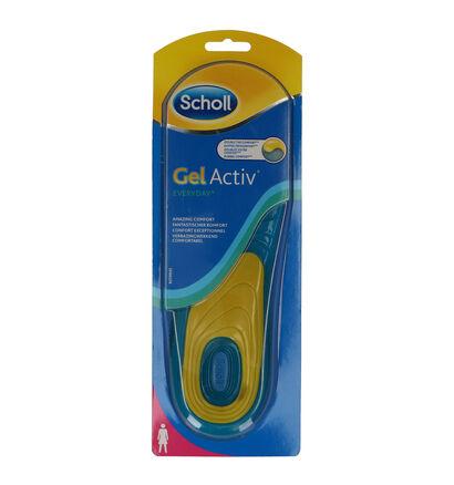 Scholl GelActiv Everyday Semelles pour Femmes (222301)