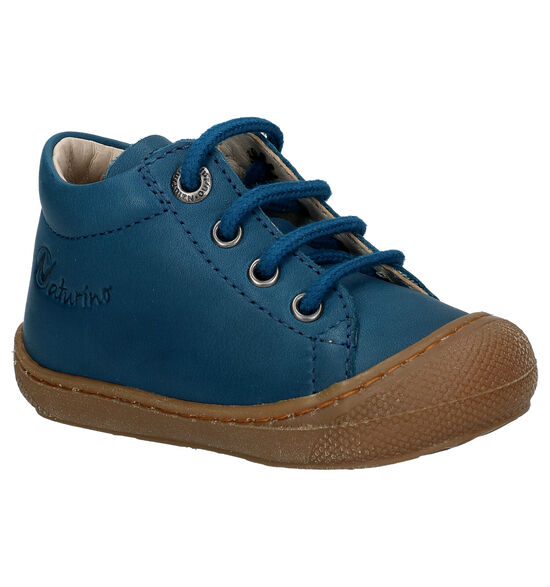 Naturino Cocoon Blauwe Hoge Schoentjes