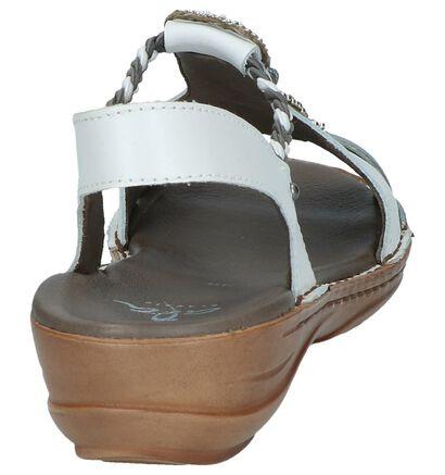 Ara Sandales à talons en Blanc en cuir (246500)