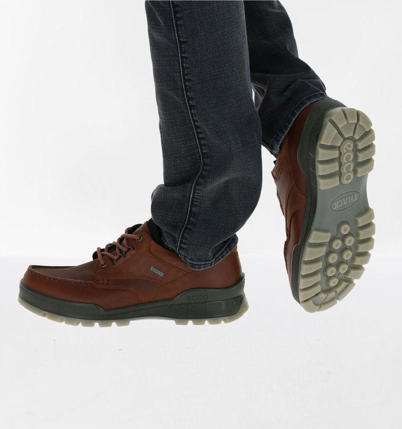 Ecco Track 25 Chaussures basses en Noir en cuir (257917)