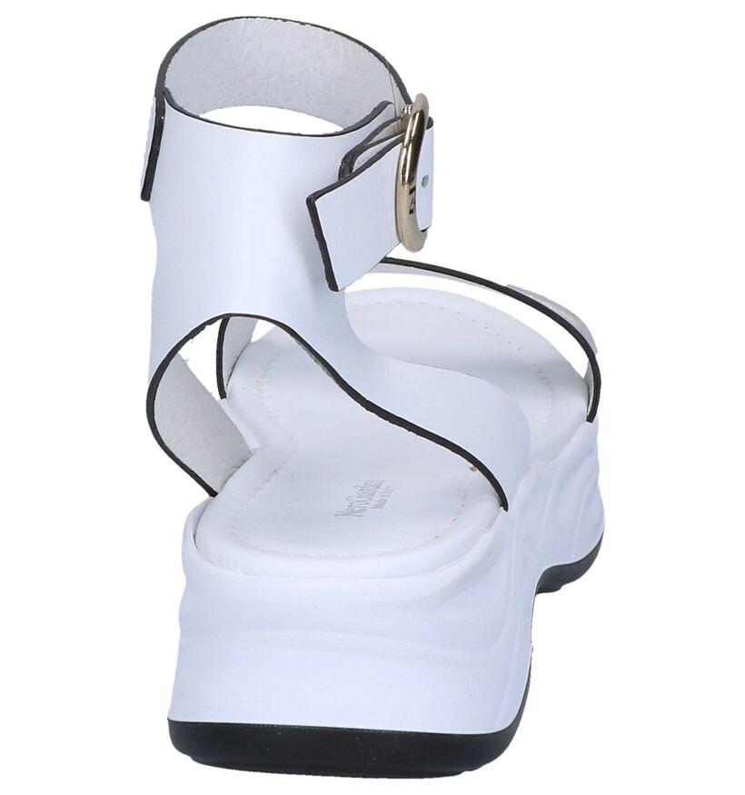 Witte Sandalen NeroGiardini in leer (251670)
