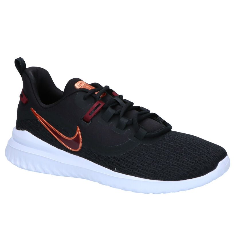 Nike Renew Rival Baskets en Noir en textile (262184)